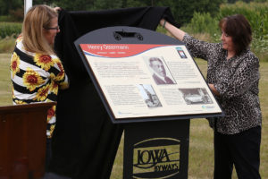 Henry Osterman Interpretive Panel Unveiling Montour, Iowa