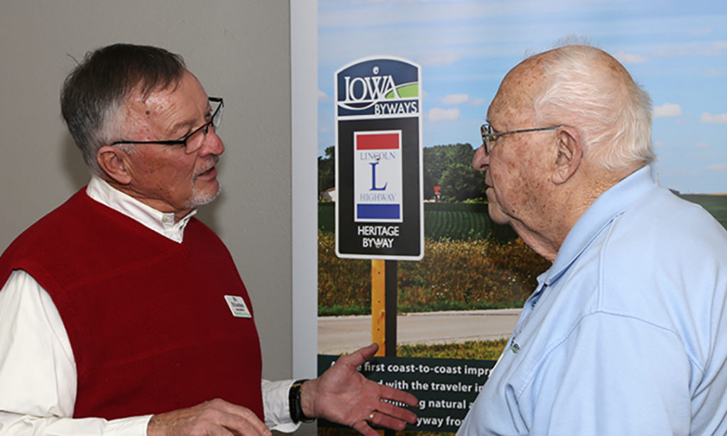 Prairie Rivers of Iowa Board Members During 2019 Open House