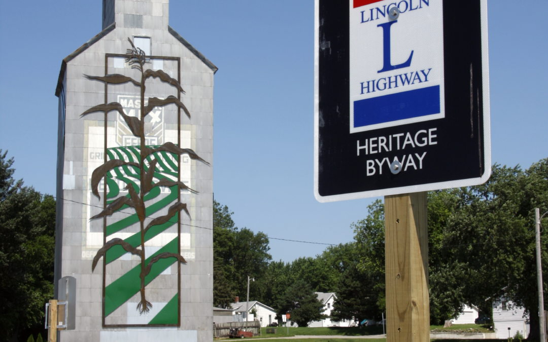 Iowa's Lincoln Highway Is Now a National Scenic Byway!