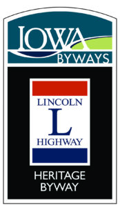 Iowa Byways Lincoln Highway Heritage Byway Sign