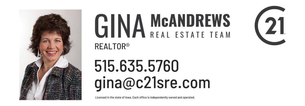 Gina McAndrews Real Estate Team Logo