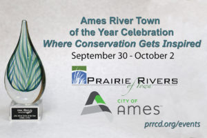 Ames River Town of the Year Celebration Logo