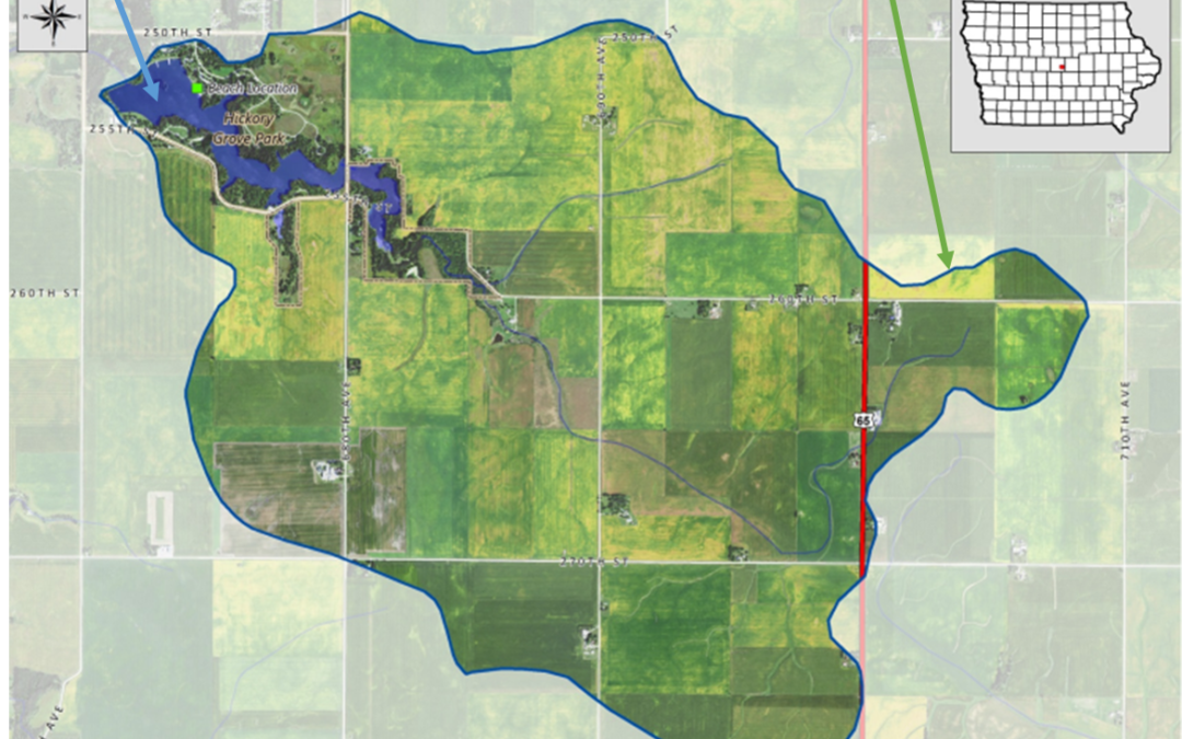 Watershed maps tell us how big the solutions have to be
